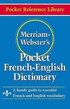 Merriam-Webster's Pocket French-English Dictionary (Pocket Reference Library) M
