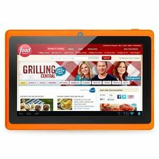 "Orange 8GB 7"" Android 4.4 Tablet PC for Kids Children A33 Quad Core Kid MID WiFi"