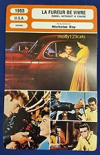 US Drama Rebel Without A Cause James Dean Natalie Wood French Film Trade Card