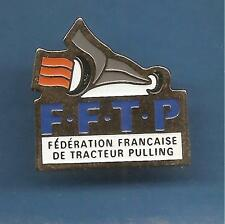 Pin's pin CAMION FEDERATION FRANCAISE DE TRACTEUR PULLING F.F.T.P  (ref 020)