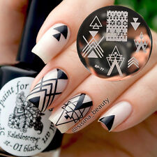 Nail Art Stamp Stamping Template Image Plate Negative Space BORN PRETTY BP77
