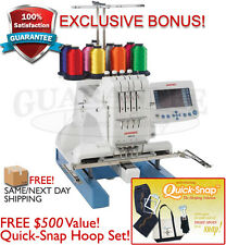 Janome 4 Needle MB-4S MB4S Embroidery Machine w/ $500 BONUS QUICK SNAP HOOP SET