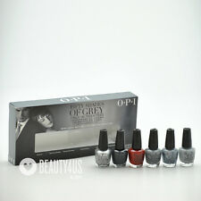 OPI 50 Fifty Shades of Gray Grey Mini Collection - 6 mini polishes 1/8 fl oz