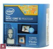 NEW Intel Core i5-4690K Quad Core 3.5GHz Unlocked Processor CPU LGA 1150 88W