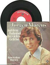 Jürgen Marcus Auf dem Bahnhof der vielen Geleise, G-/VG, 7'' Single, 4040
