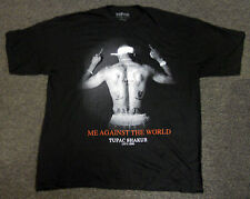 NEW TUPAC 2PAC SHAKUR Me Against The World 1971-1996 black T-SHIRT sz- XXL- 2xl