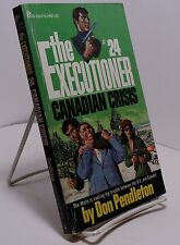 The Executioner #24 Canadian Crisis by Don Pendleton - First edition