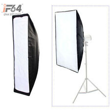 Photo Studio Lighting Softbox 35 x 140cm with Bowens Mount for Strobe Monolight