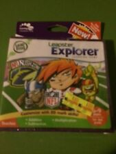 NEW LEAP FROG LEAPSTER LEAPPAD EXPLORER GAME NFL RUSH ZONE AGES 6-9 YEARS