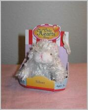 Only Hearts Club Pets SILVER White Gray Kitten CAT, New in Box!