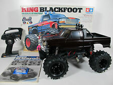 Tamiya 1/10 RC King Blackfoot 2WD #58192 HPI 2.4GHz Remote Control new Light Kit