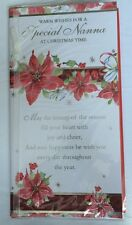 Warm Wishes For A Special Nanna At Christmastime - Christmas Card