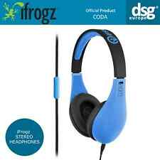 iFrogz Coda Stereo Headphones Headset with Microphone - black/blue
