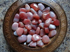 APRICOT AGATE 1/4 Lb Gemstone Specimens Tumbled Wiccan Pagan Metaphysical