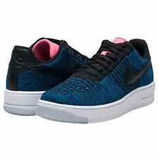 WOMEN'S NIKE AIR FORCE 1 SNEAKERS AF1 FLYKNIT LOW SIZE 7.5 820256 003 NEW