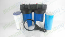 "10""x4.5"" Big Blue Whole House Water Filter System For Home & Well Water supply"