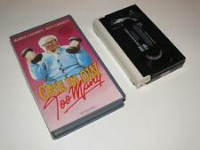 Betamax Video ~ One Blow Too Many ~ James Cagney ~ Small Case Pre-Cert ~ CBS/FOX