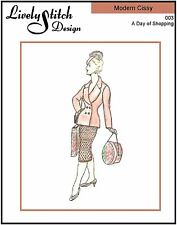 "A Day of Shopping / pattern for 21"" Modern Cissy by Madame Alexander"