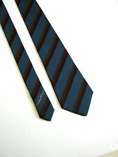 SALVATORE FERRAGAMO Cravatta Tie NUOVA NEW Originale 100% SETA SILK IDEA REGALO