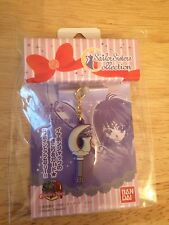 Sailor Moon Sailor Saturn Sailor Sisters Earphone Silence Glaive Charm Charpin