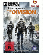 Tom Clancy's The Division Uplay Pc Key Game Download Code Global [Blitzversand]