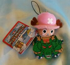 One Piece x Dragonball Z Plush Charm/Dangler- Chopper on Shenron
