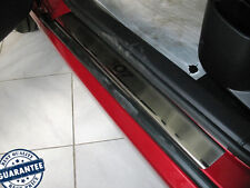 PEUGEOT 307 5D 2001-2011 Stainless Steel Door Sill Guard Cover Scuff Protectors