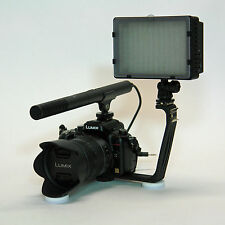 Pro VM SC-2L video mic light for Olympus OM-D E-M5 E-5 E-P5 E-PL5 SEMA-1 DSLR