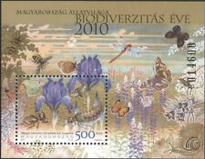 Hungary 2010 Iris/Flowers/Beetle/Insects/Conservation/Environment 1v m/s n45393