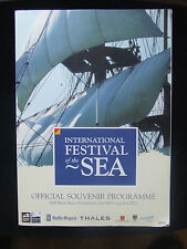 INTERNATIONAL FESTIVAL OF THE SEA OFFICIAL SOUVENIR PROGRAM PORTSMOUTH 2005 162