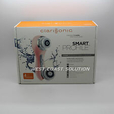 NEW Clarisonic Smart Profile 4 Speed Face & Body Sonic Cleansing System - Pink
