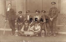 WW1 soldier group Middlesex Regiment Rhine Army of Occupation