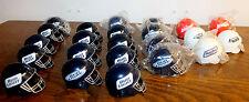 23 Vtg Mini Football Helmet Bud Bowl Budweiser Bud Ice Dry Beer Bottle Topper