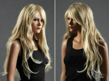 CHENSW01  fancy long blonde mix lady's curly hair wigs for women wig