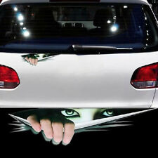 1x Auto 3D Aufkleber Sticker Spähen Monster Wasserdicht Autotattoo Sticker