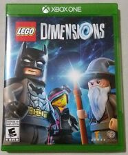 * LEGO Dimensions Microsoft Xbox One Game Art Work & Case   *  Free Ship  ��