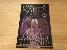 SIGNED x2 George R R Martin A Game Of Thrones Comic #3 Mike Miller 1st + Pic
