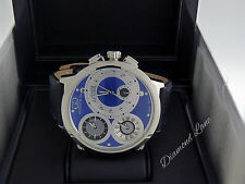 Pre-owned Curtis & Co. Big Time World 57mm Swiss Made Limited Edition Watch