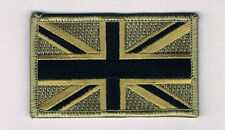 UNION JACK UK ARMY GREAT BRITAIN FLAG UNITED KINGDOM BRITISH DESERT GREEN PATCH