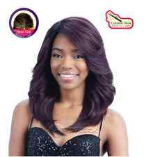 Equal Synthetic Invisible Lace Front L Part Wig Riley
