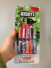 Hershey's Flavored Lip Balm - Pack Of 10 - Reese's, Jolly Rancher, Twizzler- NEW