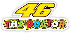 46 The Doctor Moto GP Autocollant sticker Bike Moto ride Bumper VINYL Pegatina