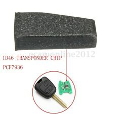 Car Key Blank ID46 PCF7936 Virgin Transponder Chip For Peugeot 206 207 Citroen