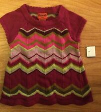 Missoni For Target Infant XS (3-6 Months) Girls Pink Cute Dress NWT