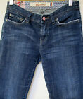 Women sz 27/29 (8) BEN SHERMAN mid-rise straight leg stretch denim Jeans EC $150