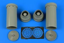 Aires 4700 Resin 1/48 Grumman F-14A Tomcat exhaust nozzles - closed Tamiya