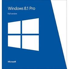 WINDOWS 8.1 PRO LICENCIAMIENTO 1 PC 32/64 + ACTUALIZACION A WINDOWS 10 GRATIS