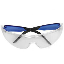 Safety safe Glasses Sports Lab Eye Protection Protective clear Lens NEW