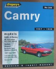 Toyota Camry SV20 & 21 Series Gregory's Service & Repair Manual No. 244