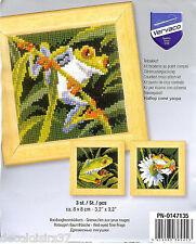 VERVACO  0147135   Miniatures  Grenouilles  Point de Croix  Compté